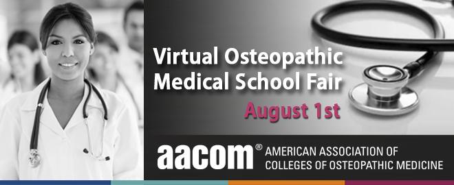 Virtual Osteopathic Medical School Fair August 1, 2018 | Pre